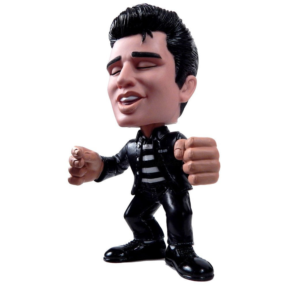 Elvis Presley Movie Collectible: 2009 Funko Force Jailhouse Rock Figure in Blue Lid Display Case
