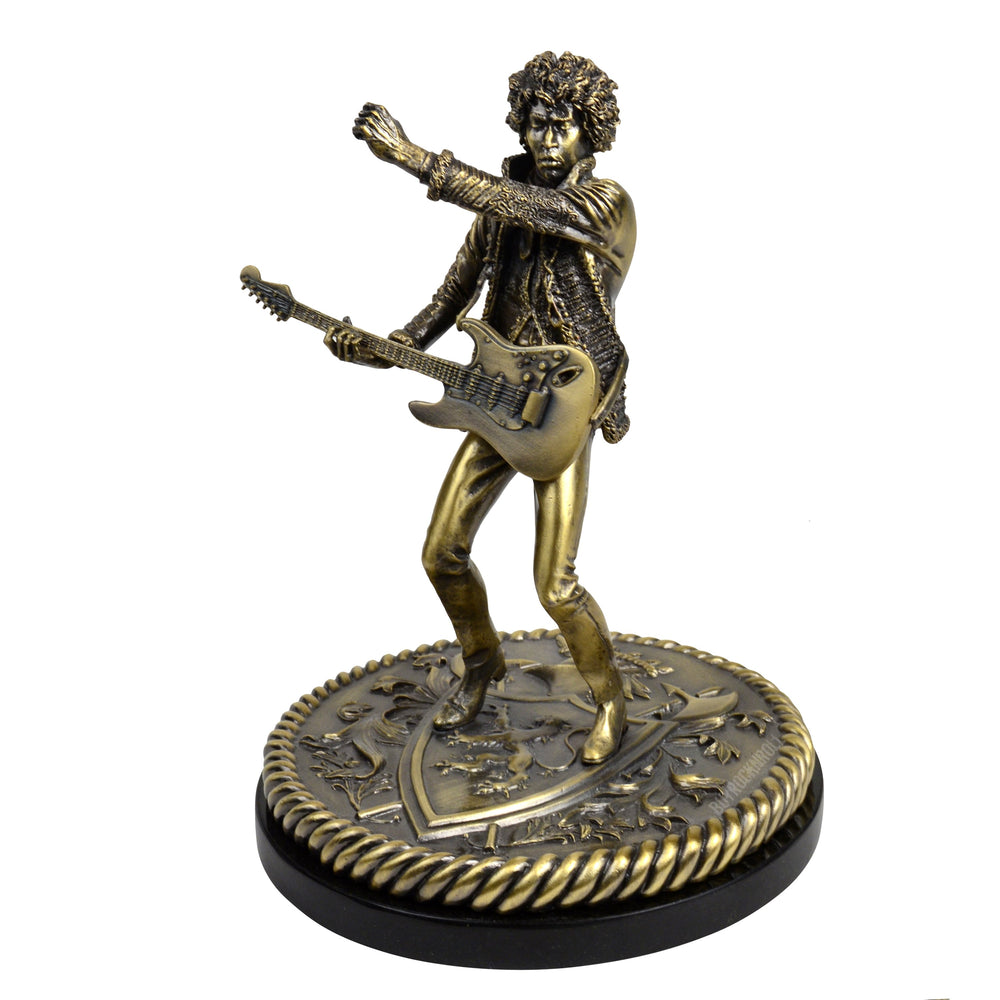 Jimi Hendrix Collectible: 2007 Knucklebonz Rock Iconz Bronze Statue Sculpture