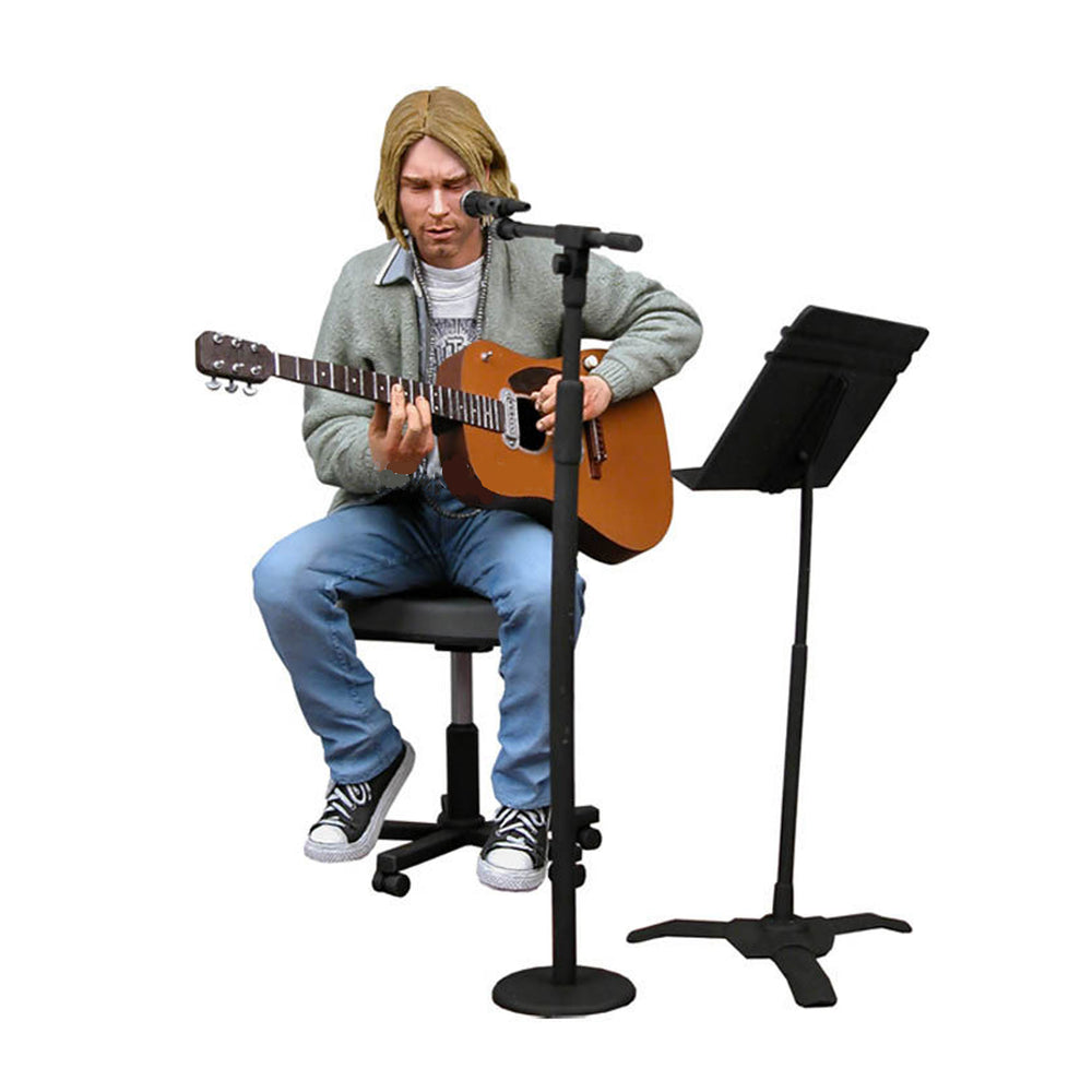 Nirvana Collectible: NECA 2006 Kurt Cobain MTV 1993 Unplugged in New York Figure C2