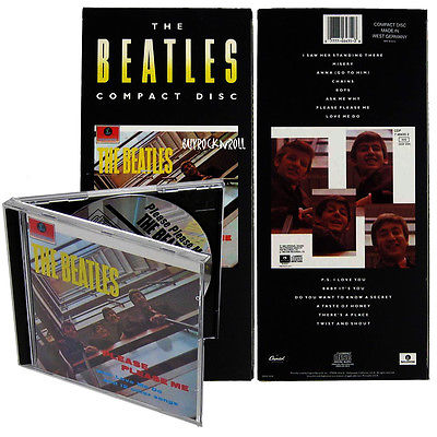 The Beatles 1987 USA Capitol Please Please Me Remastered CD Album & Longbox