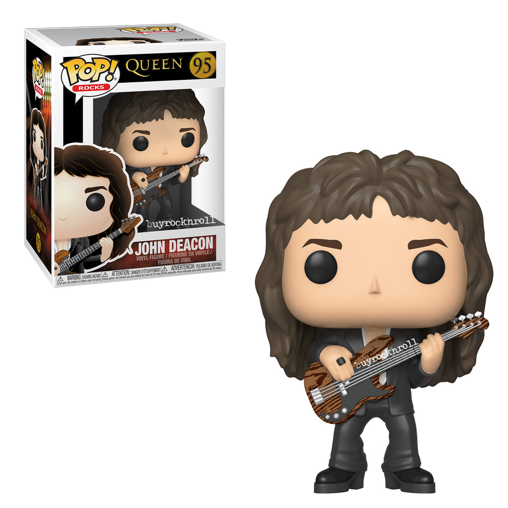 Queen Collectible: Handpicked 2018 Funko Pop! Rocks John Deacon Figure #95