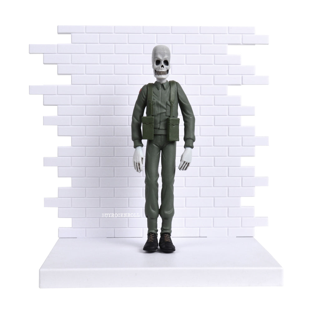 Pink Floyd Collectible 2004 The Wall Skeleton Soldier Figural Maquette/Figure C3