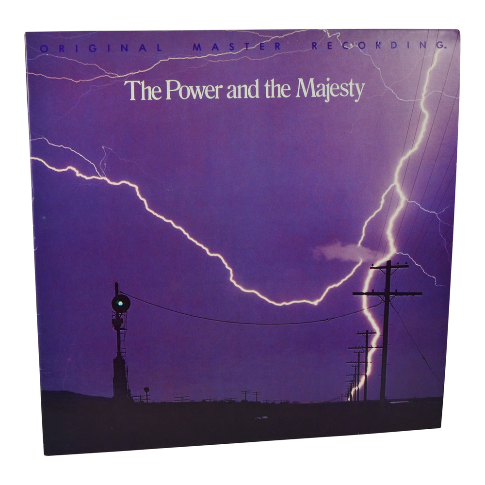 MFSL Collectors: 1978 Mobile Fidelity Brad Miller The Power And The Majesty LP #1-004