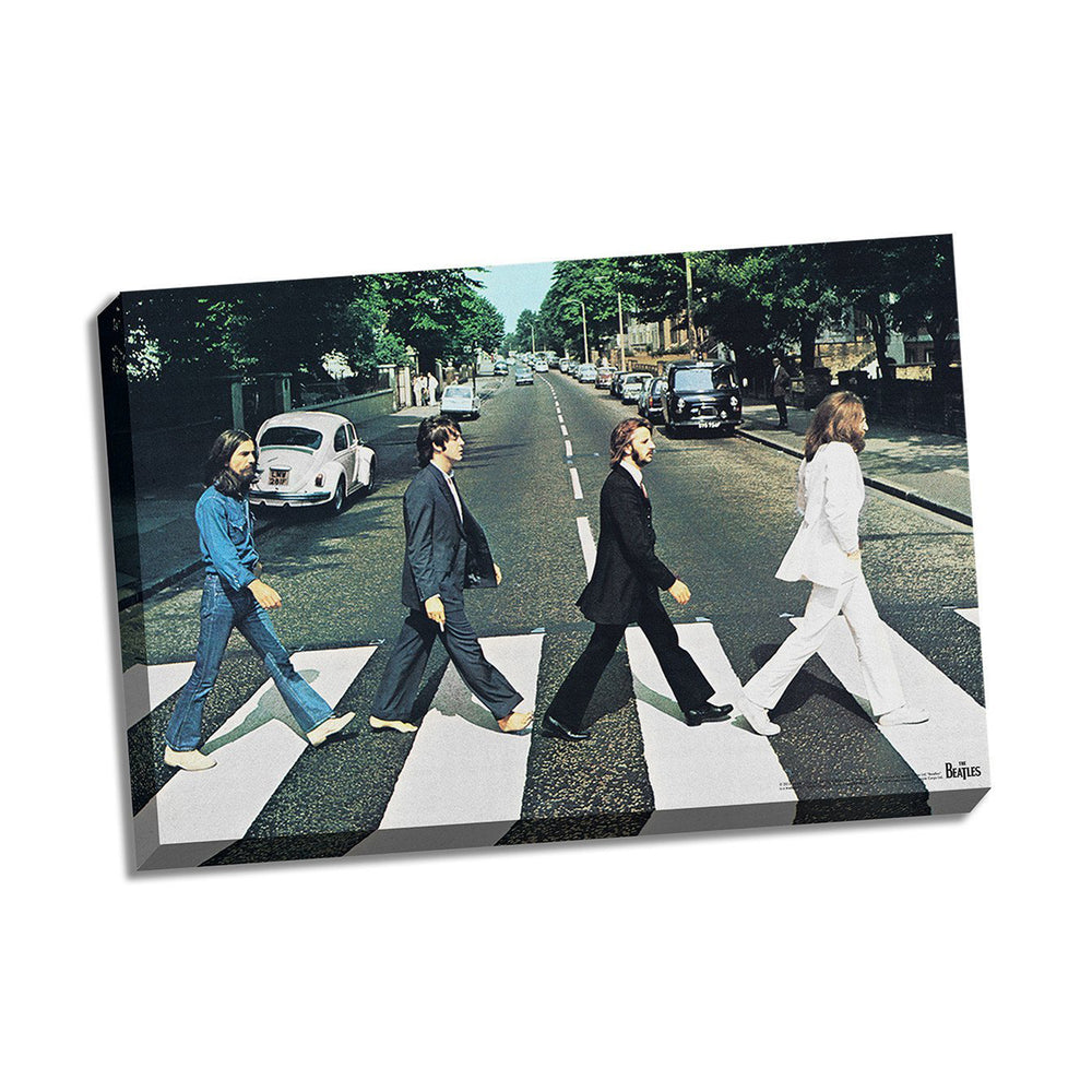 The Beatles Collectors Abbey Road Wall Art Stretched Canvas 24x36