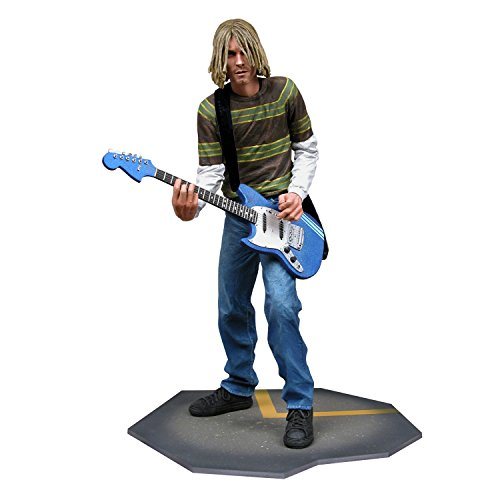 "Nirvana Collectible NECA 2006 Kurt Cobain Smells Like Teen Spirit 18"" Figure"