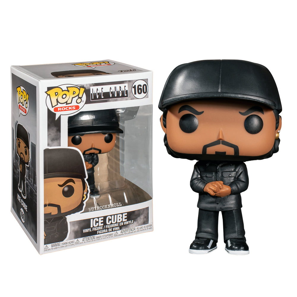 Ice Cube Collectible 2019 Handpicked Funko Pop Rocks Vinyl Figure #160 in Protector Case