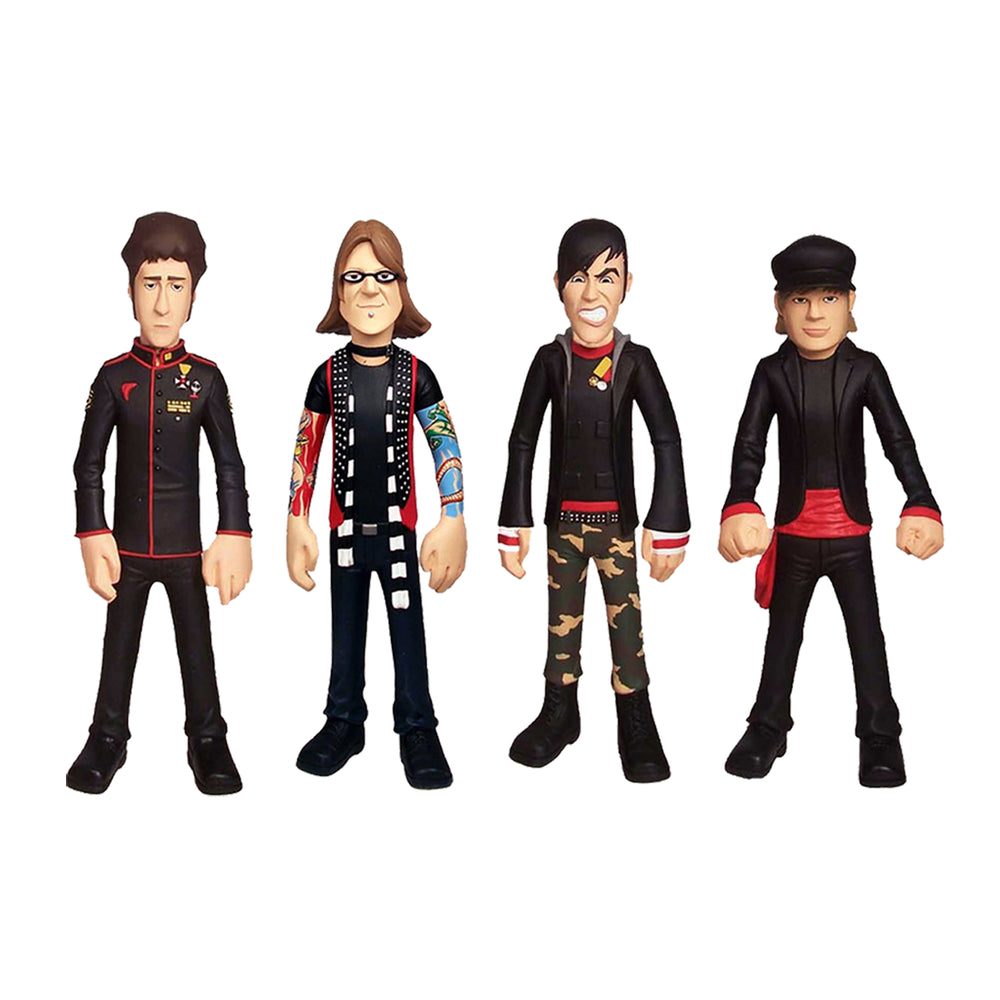 Fall Out Boy Collectibles: New 2006 Sota Toys Band Member Figure Set NICE!