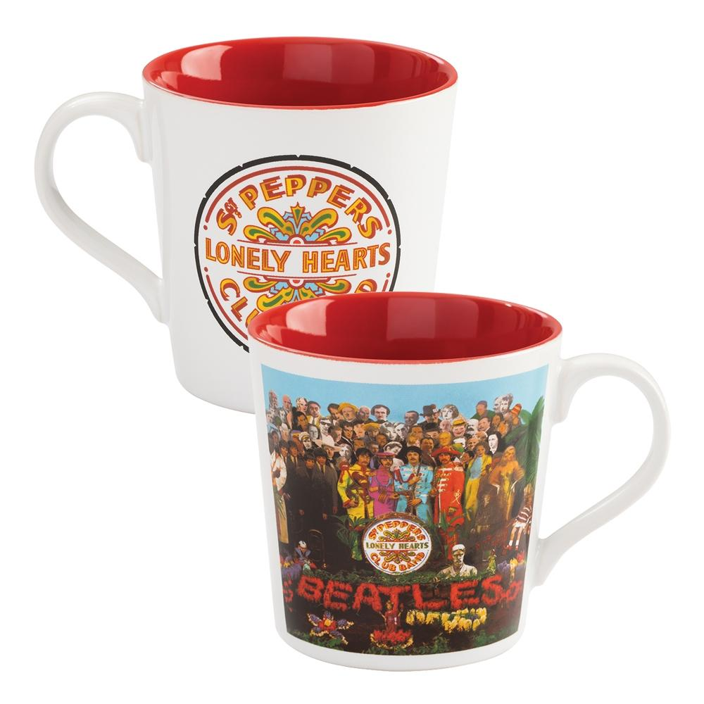 The Beatles 2018 Vandor The Sgt Pepper's Lonely Hearts Club Band Album 12 oz Mug