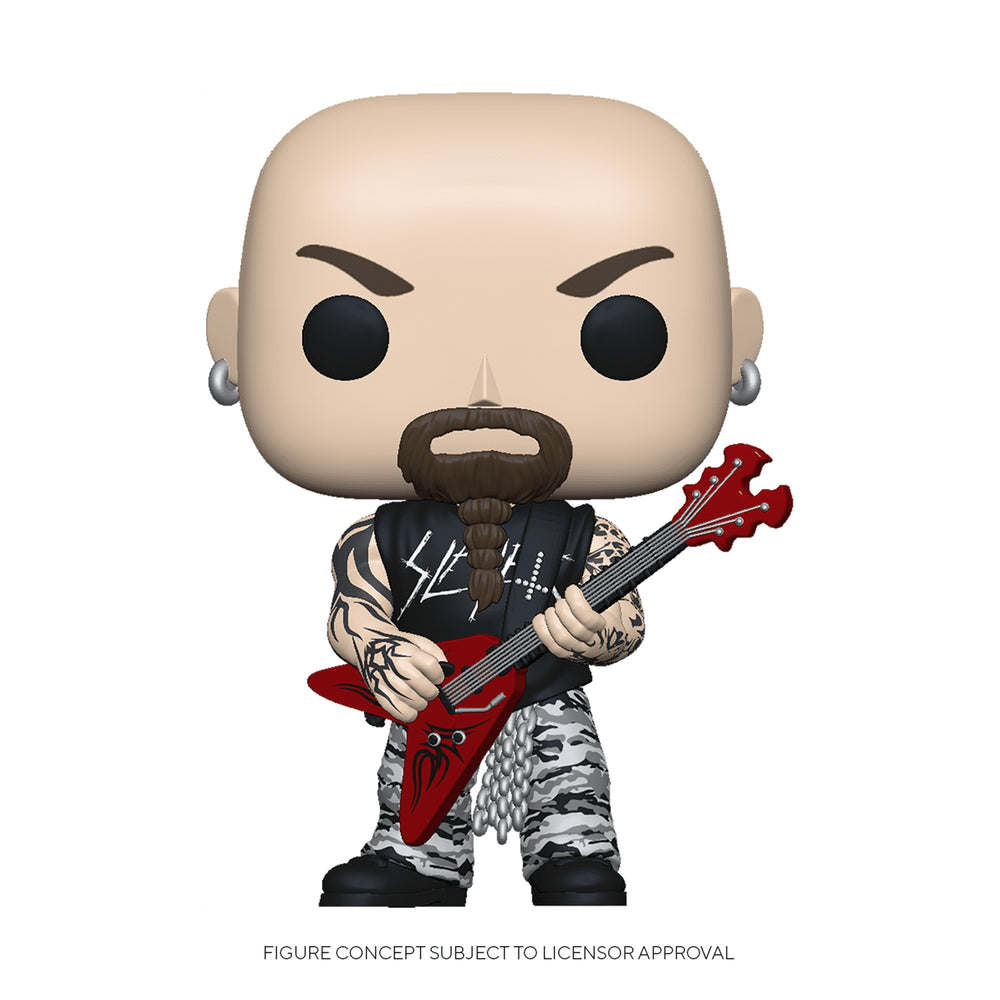 Slayer Collectible 2019 Handpicked Funko Pop Rocks Figures Araya, Hannemin, King in Protectors