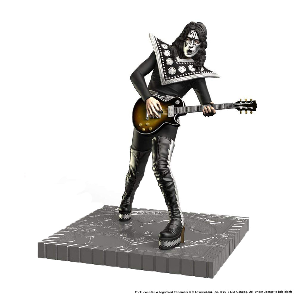 KISS Collectible 2017 KnuckleBonz Rock Iconz Hotter Than Hell Ace Frehley Statue #87 of 3000