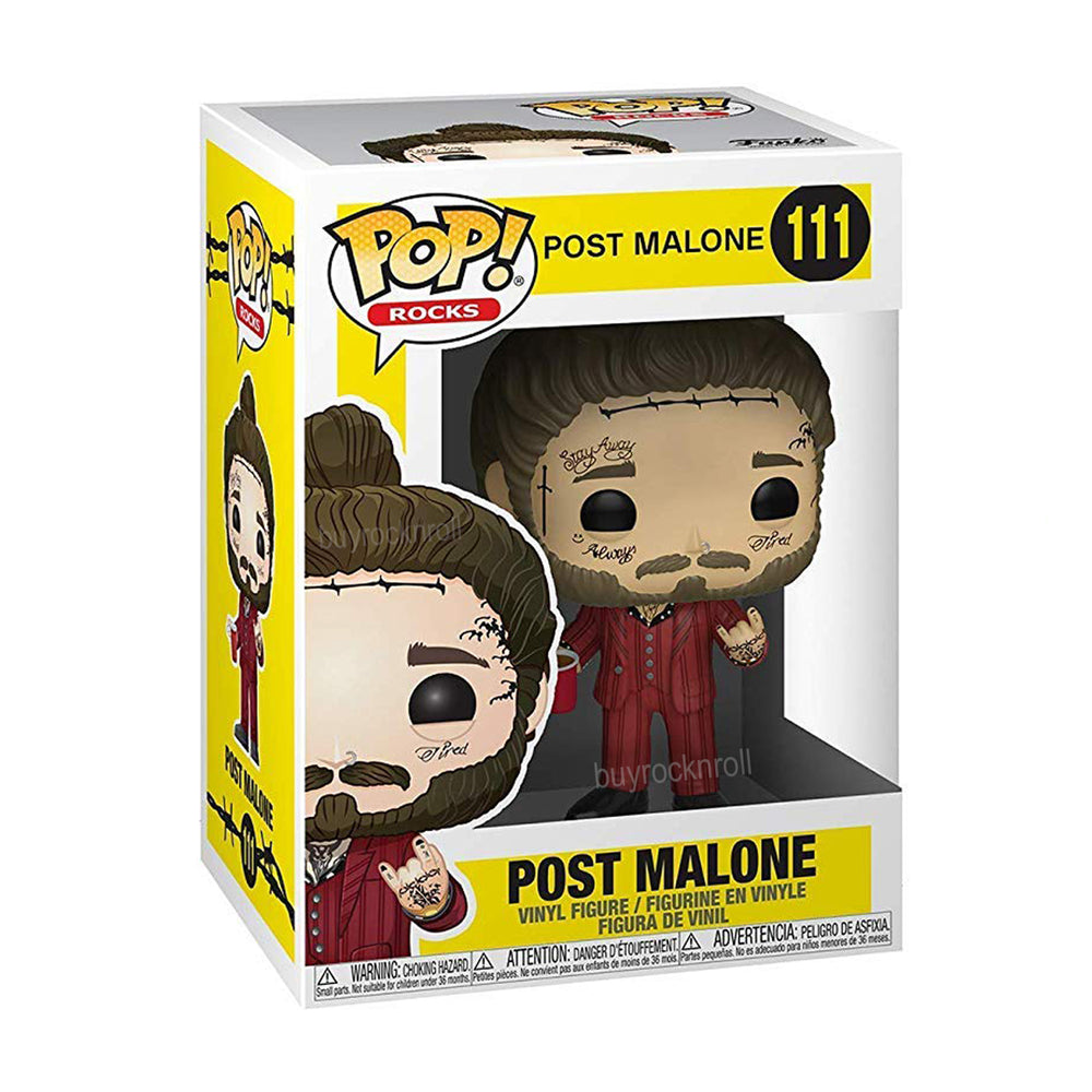 Preorder 2019 Handpicked Funko Pop! Rocks Post Malone Tatoo Vinyl Figure #111