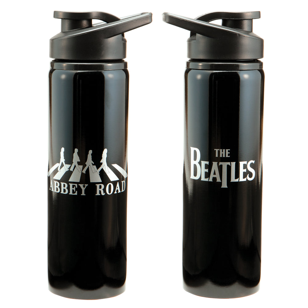 The Beatles Collectible 2011 Vandor Abbey Road Figures Stainless Steel Water Bottle