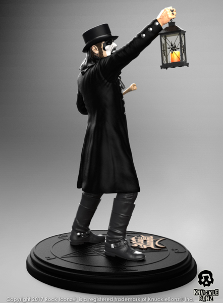King Diamond Collectible: 2018 KnuckleBonz Rock Iconz Statue SOLD OUT!