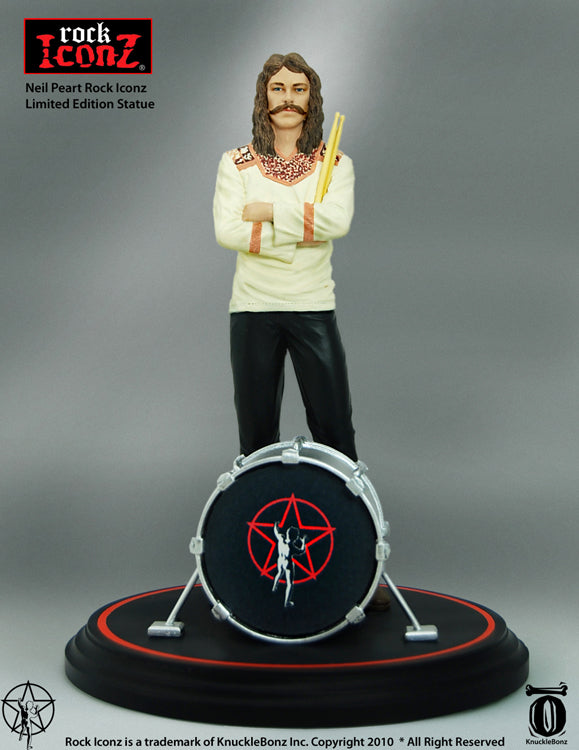 RUSH Collectible: 2010 KnuckleBonz Rock Iconz Neil Peart Statue