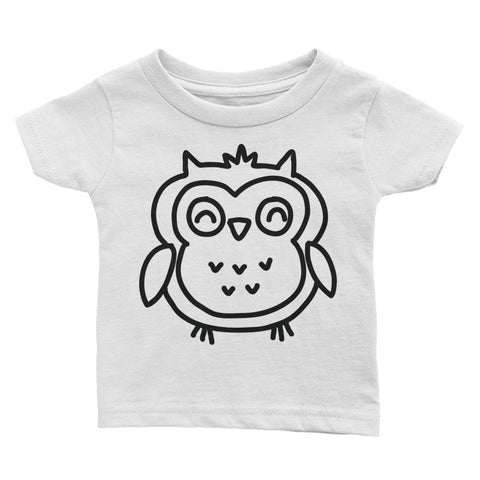 The Stockshirt Baby Owl Infant Tee