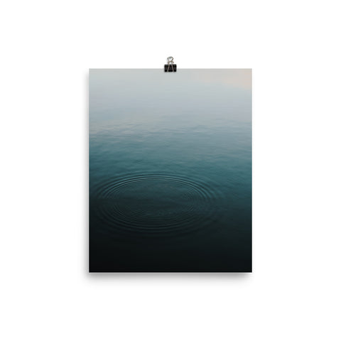 The Stockshirt Ocean Series No2 Photo paper poster
