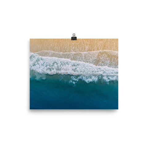 The Stockshirt Ocean Series No3 Photo paper poster