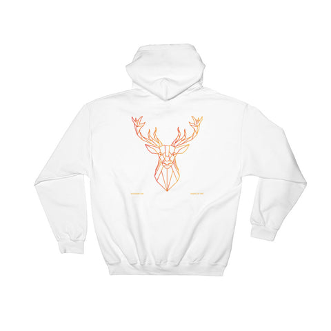 The Stockshirt Orange Deer Designed by Freepik Hood