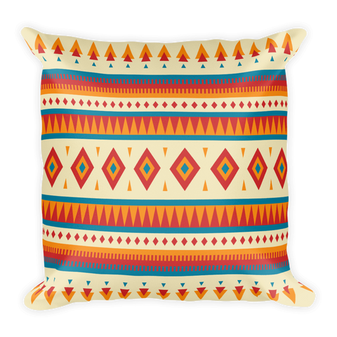 Native Pattern Square Pillow