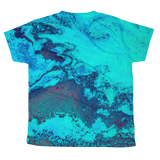 Turqoise Ocean All-over youth sublimation T-shirt