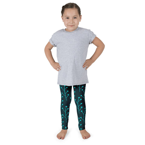The Stockshirt Paju Dark Green Kid's leggings