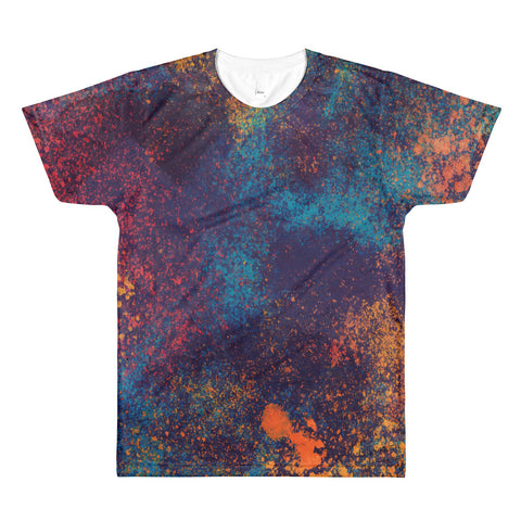 Paint splatter All-Over Printed T-Shirt