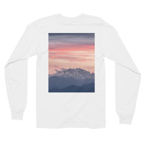 Mountain Sunset Unisex Long Sleeve T-Shirt