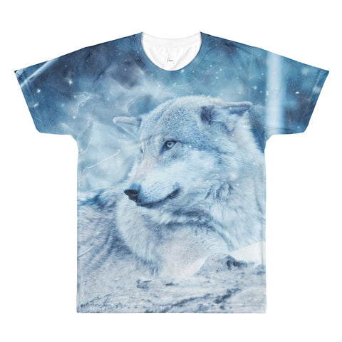 The Stockshirt Wolf 2 Sublimation men's t-shirt
