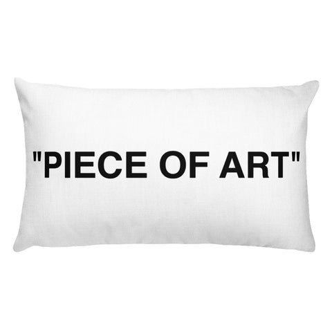 Piece of Art Rectangular Pillow