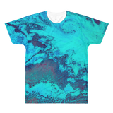 Turqoise Ocean All-Over Printed T-Shirt