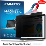 "Adaptix MacBook Compatible - 16"" Magnetic Privacy Screen for MacBook -  Anti-Glare, Anti-Scratch, Blocks 96% UV - Blue Light Screen Filter Protector & Security Accessories by Adaptix (AMSMR16-TB)"