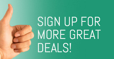 Sign up for more great deals