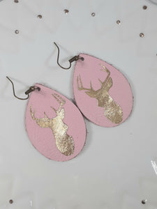 Blush + Metallic Stag