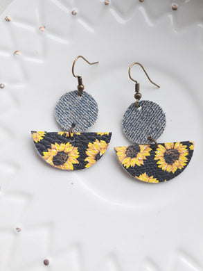 Denim + Sunflower
