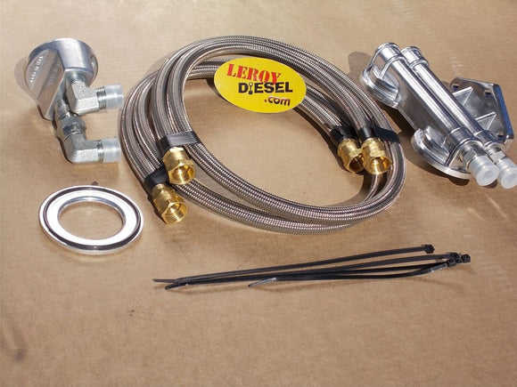 4x4 Oil Filter Relocation Kit