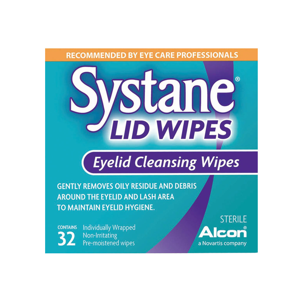 Alcon Systane Lid Wipes 32 Count
