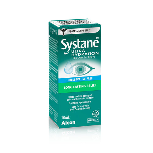 Alcon Systane Ultra Hydration Lubricant Eye Drops