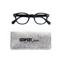 Load image into Gallery viewer, IZIPIZI Junior Screen Reading Glasses #C with Grey Felt Carrying Case