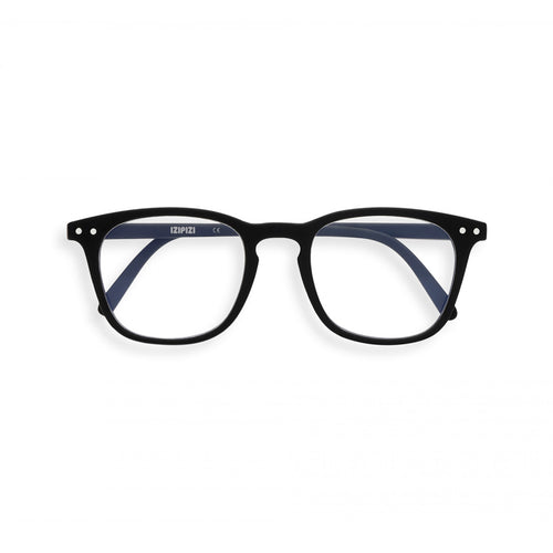 IZIPIZI Junior Screen Reading Glasses #E in Black