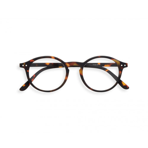 Izipizi Reading Glasses D in Tortoise front view