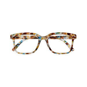 Izipizi Reading Glasses Style L in Blue Tortoise