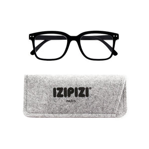 Izipizi Reading Glasses Style L with Grey Felt Carrying Case