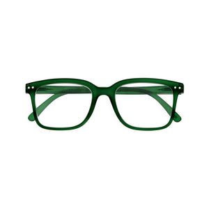 Izipizi Reading Glasses Style L in Green Crystal