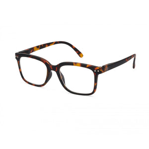 Izipizi Reading Glasses Style L in Tortoise Angled