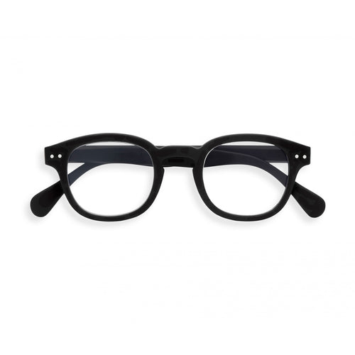 Izipizi Screen Reading Glasses C in Black front view