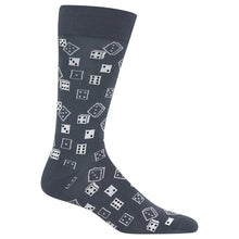 Hot Sox - Men's Dice Socks in Grey