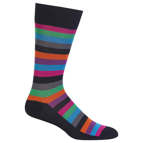 Hot Sox - Men's Fun Stripe Socks