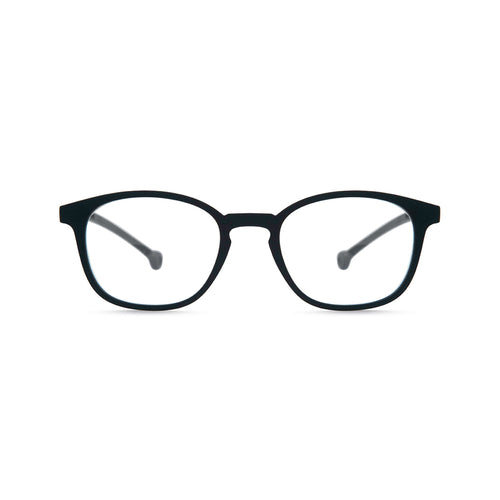Parafina Sena Black Reading Glasses Front View