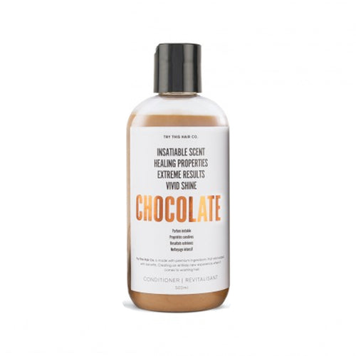 Try This Hair Co. Chocolate Conditioner 500 mL Bottle