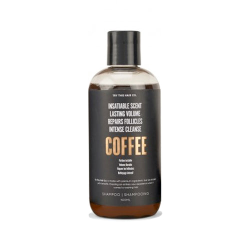 Try This Hair Co. Coffee Shampoo 500mL Bottle
